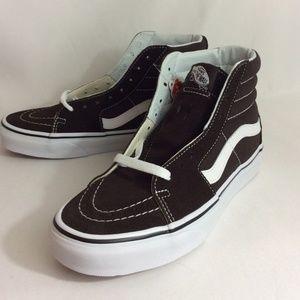 NWOT Vans Chocolate Torte Sk8 Hi Unisex Sneakers